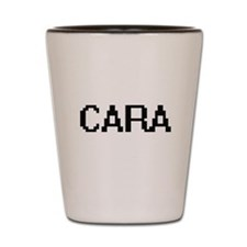 Cara Digital Name Shot Glass