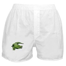 Green Alligator Boxer Shorts