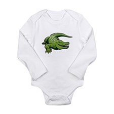 Green Alligator Body Suit