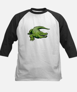 Green Alligator Baseball Jersey