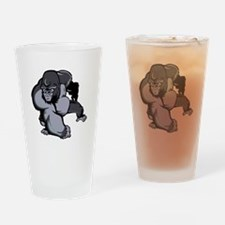 Big Gorilla Drinking Glass