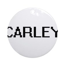 Carley Digital Name Ornament (Round)