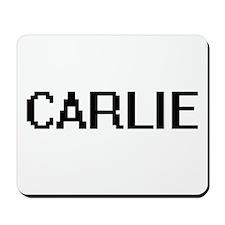 Carlie Digital Name Mousepad
