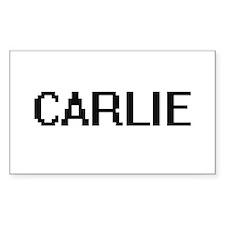 Carlie Digital Name Decal