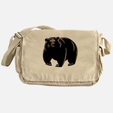 Black Bear Messenger Bag