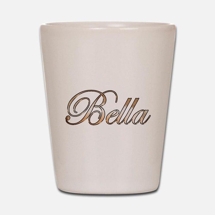 Gold Bella Shot Glass