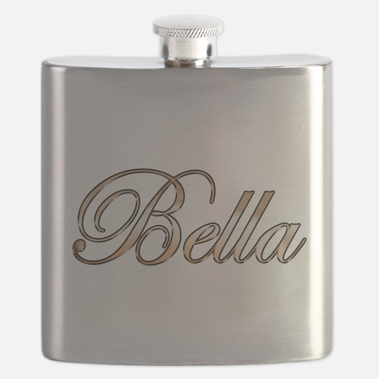 Gold Bella Flask