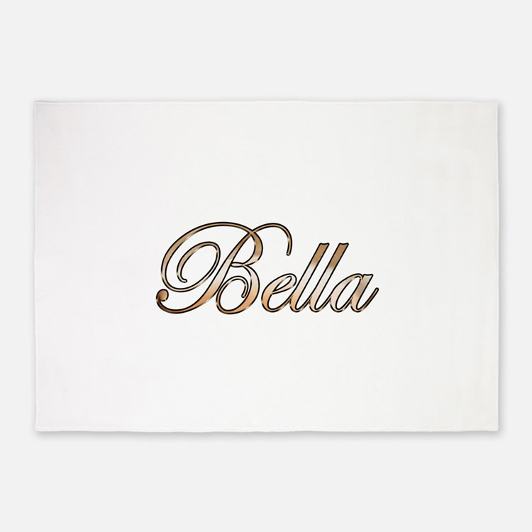 Gold Bella 5'x7'Area Rug