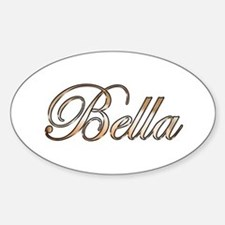 Gold Bella Decal