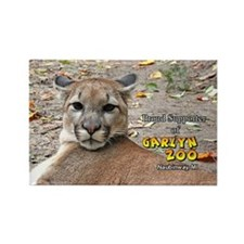 Cougar supporter Rectangle Magnet
