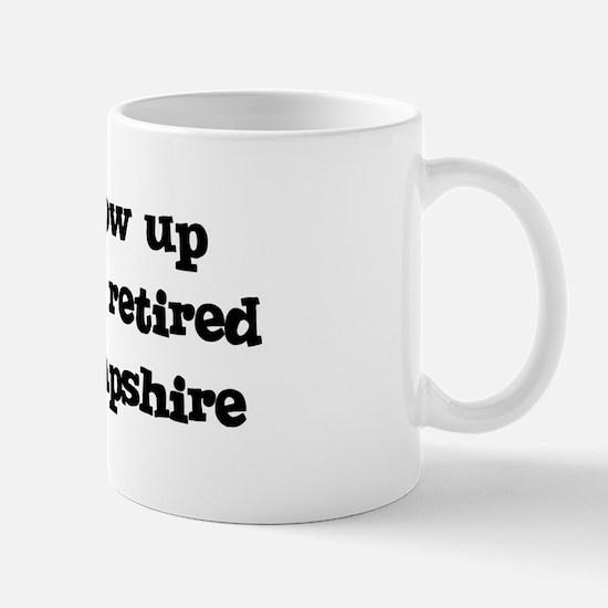 Retired in New Hampshire Mug