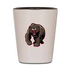 Grizzly Bear Shot Glass