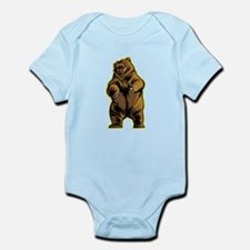 Angry Bear Body Suit