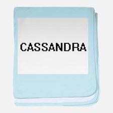 Cassandra Digital Name baby blanket