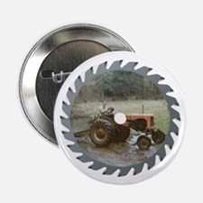 """Vintage Tractor Saw Blade 2.25"""" Button (10 Pa"""