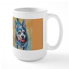 Yoda The Dog Large Mugs
