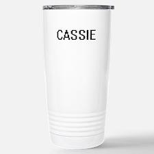 Cassie Digital Name Travel Mug