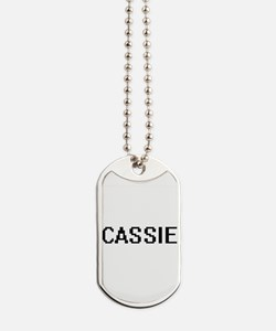 Cassie Digital Name Dog Tags