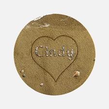 Cindy Beach Love Button
