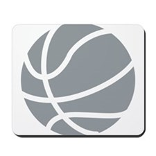 Basketball Grey Mousepad