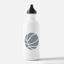Basketball Grey Water Bottle