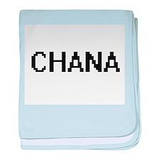 Chana Digital Name baby blanket