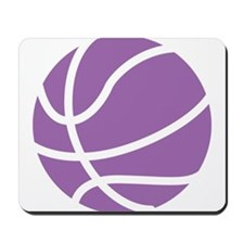 Basketball Purple Mousepad