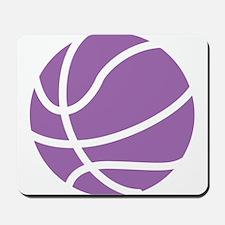 Basketball Purple Mousepad