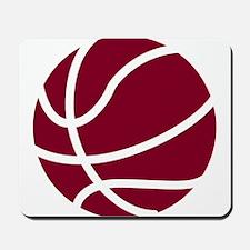 Basketball Garnet Mousepad