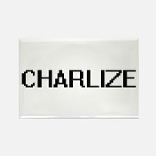 Charlize Digital Name Magnets