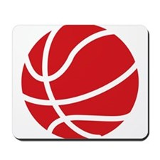Basketball Red Mousepad