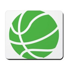 Basketball Lime Mousepad