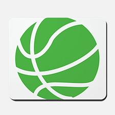 Basketball Lime Mousepad