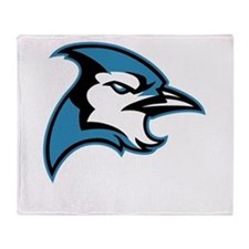 Bluejay Head Throw Blanket