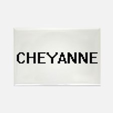 Cheyanne Digital Name Magnets