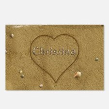 Christina Beach Love Postcards (Package of 8)