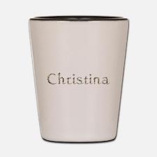 Christina Seashells Shot Glass
