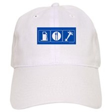 Gas Food Deathray Baseball Cap