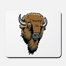 Buffalo Head Mousepad