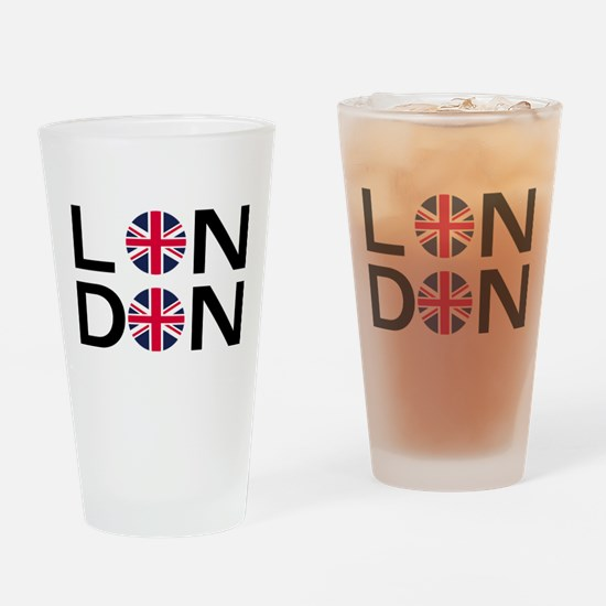 London Drinking Glass