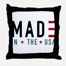 Made In USA Throw Pillow