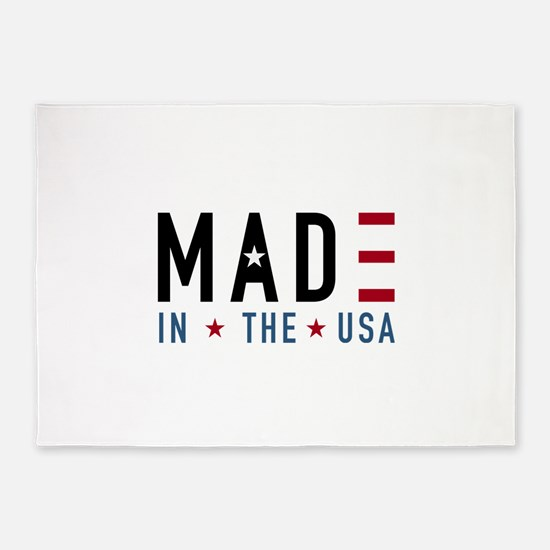 Made In USA 5'x7'Area Rug