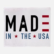 Made In USA Throw Blanket