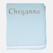 Cheyanne Seashells baby blanket