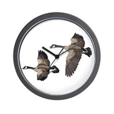 Flying Goose-No Text Wall Clock