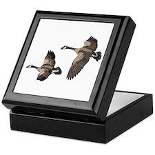 Flying Goose-No Text Keepsake Box