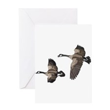 Flying Goose-No Text Greeting Card