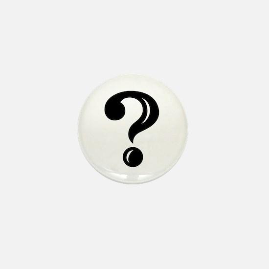 Question Mark Mini Button