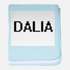 Dalia Digital Name baby blanket