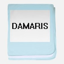 Damaris Digital Name baby blanket